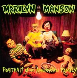 RARE MARILYN MANSON PORTRAIT OF AN AMERICAN FAMILY LP 1999 SIMPLY VINYL UK PRESS