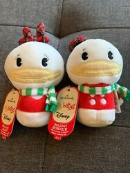 Hallmark Itty Bittys Disney Holiday Daisy And Donald Duck Collectibles