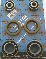 1937 - 1940 Buick Front Inner And Outer Wheel Bearings And Oil Seals Kit +131 Pg.cat