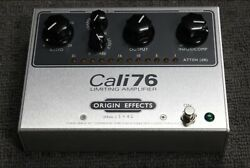 Origin Effects Cali76 TX Limiting Amplifier. In box with instructions