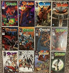 Spawn #1-12; NEVER READ - CGC 9.6 - Image Comics 1992 - Plastic Protector