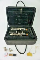 Clarinet Jean Martin Freres With Pro Tec Bag Case Made In Paris France Vintage