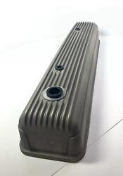 Finned Aluminum Tall Valve Cover For Chevy 216 And 235 - Unpolished Show Quality