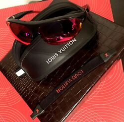 Authentic Louis Vuitton 4Motion Limited Edition FIRE Sunglasses100%Authentic