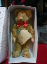 Vintage Hermann Mohair Jointed 1924 Inflation Bear Replica 272/500 Mint