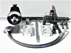 53 54 55 56 Chevy Truck Rack And Pinion Power Steering Conversion