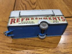 Matchbox Moko Lesney 74 Canteen Refreshments With Rare Darker Mid Blue Base
