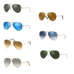 Ray Ban Aviator Sunglasses: Your choice of color and size $95.95
