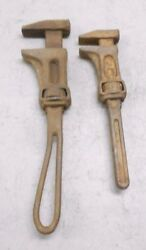2 Vintage Ih Monkey Pipe Wrench International Harvester Farming Tractor S307