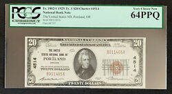 Nqc Fr. 1802-1 20 1929 Type 1 National Bank Note