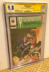 VALIANT SHADOWMAN 3 CGC 9.8 WP 2X SS SIGNATURE SERIES SHOOTER + LAYTON PRE UNITY