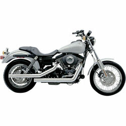 Cobra Chrome Dragsters 22 Drag Pipe Full Exhaust For Harley Dyna Fxd 91-05