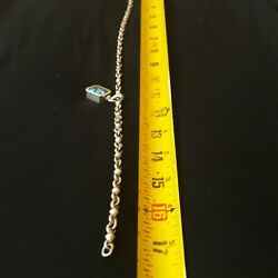 Alan Faye Paris Sterling Silver Necklace And Bracelet Set Total Weight Is 160 G