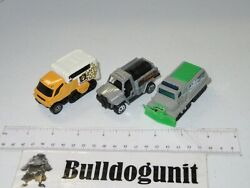 Lot Of 3 Matchbox Diecast Truck Vehicle Cars Snow Plow Toy 1998