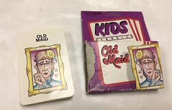 Vintage Old Maid Cards Game 1988 Box With Instructions Jobs Workers Sets Careers