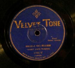 78 RPM quot;HOBOquot; JACK TURNER THE BUM SONG HALLELUJAH I#x27;M A BUM Free Shipping $15.00