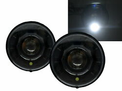 Motorcycles Led 7 Inch Round Projector Headlight Bk V2 For Harley Davidson Lhd