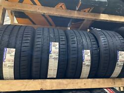 4 Michelin Pilot Sport 4s 4-s 285/25r20 93y Max Performance Summer Tires