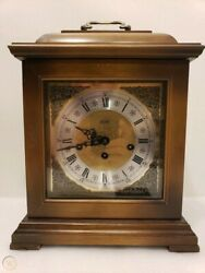 Emil Schmeckenbecher Alfry 340-020 Mantle Chime Clock 8 Day Winding