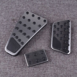 3Pcs Clutch Gas Accelerator Brake Pedal Pad Fit for Dodge Ram 1500 5500 Quality $20.43