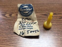 1958 And Up Amc Nash Rambler 16 Tooth Speedometer Driven Gear Nos 1019