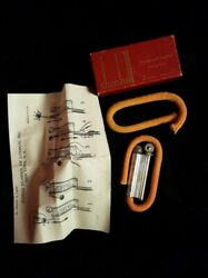 Vintage Wwii- Dunhill Windproof Trench Lighter- In Original Box With Papers