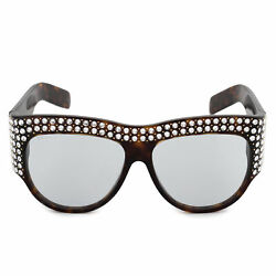 Gucci Hollywood Forever Oversized Sunglasses GG0144S 001 56