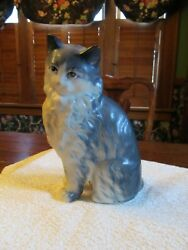 Beautiful 7 1 4 quot; ceramic cat. Japan sign on bottom. Excellent condition.