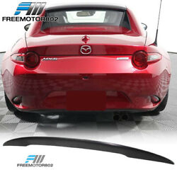 Fits 16-20 Mazda Miata Mx5 4th Nd Convertible Performance Trunk Spoiler - Abs