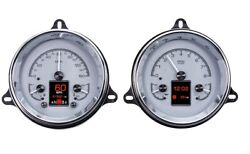 1954 Chevy Pickup Hdx Instruments - Silver