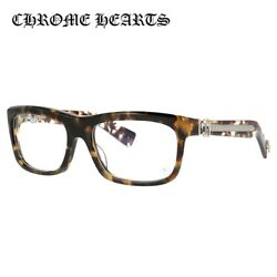 CHROME HEARTS Glasses frame regular fit MYDIXADRYLL TT 55 size square unisex