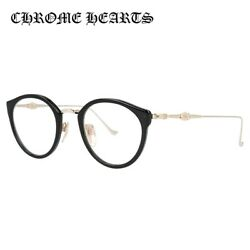 CHROME HEARTS Glasses frame DIG BIG BK  GP 45 size Boston unisex