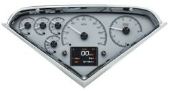 1955- 59 Chevy Pickup Hdx Instruments - Silver