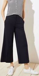 Ann Taylor Loft Cropped Wide Leg Riviera Pants Various Colors And Sizes Nwt