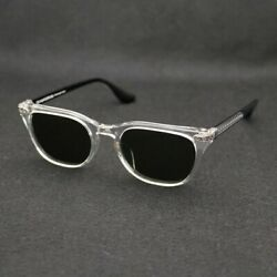 CHROME HEARTS Sunglasses WILLYWANKER CH plus 51◻20-150 Clear x Black Frame