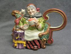 Fitz And Floyd Fortune Teller Teapot 1a Of 2,500