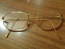 RODENSTOCK 18 CT SOLID GOLD EYE GLASSES