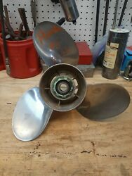 Powertech Prop 13 1/4 X13p 3blade Stainless Steel H115red3r13 H115red3r15