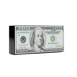 Hundred Dollar Bill Clutch Bag w Shoulder Chain FUN and UNIQUE LOOK $30.00