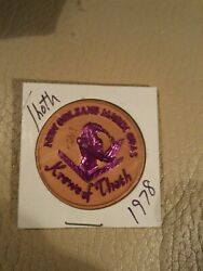 Thoth Purple Gold Dual Color 1978 Mardi Gras Doubloon New Orleans Shakespeare