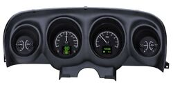 1969- 70 Ford Mustang Hdx Instruments - Black