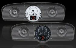 1961- 66 Ford Bronco Hdx Instruments - Silver