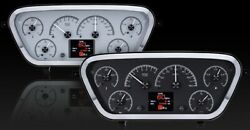 1953- 55 Ford Pickup Hdx Instruments - Silver