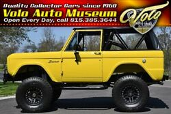 1973 Ford Bronco -- Ground up custom build in and out!
