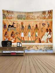 US Ancient Egypt People Pattern Tapestry Art Wall Hanging Hippie Tapestry Decor