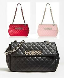 Women's Sweet Candy Quilted Shoulder Handbags 3 Colors NWT VG717512