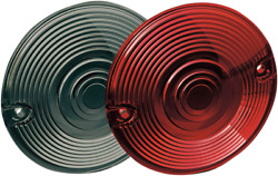 Kuryakyn 4996 Red Replacement Lens For Stock Turn Signals Harley Touring Bikes
