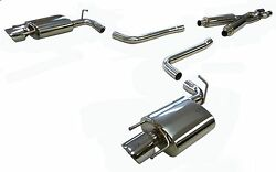 Stainless Obx Catback Exhaust For 2010-16 Cadillac Cts 3.0/3.6l V-6 N/a Rwd