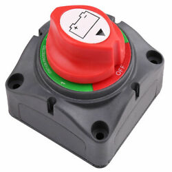 Dual Battery Selector Switch Disconnect Marine Boat Rv Vehicles 1-2-both-off Us