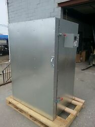 New Powder Coating Oven Batch Oven 2x3x5 With 2shelves And A Circulation Fan